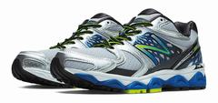 New Balance 1340v2 Men Silver/Blue/Black Running Shoes (533ZTIUVH)