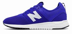 New Balance 247 Classic Boys Blue/White Lifestyle Shoes (953KOBZWS)
