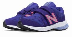 New Balance Hook And Loop 888 Girls Purple Running Shoes (147UBQSFX)