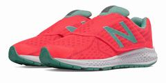 New Balance Hook And Loop Vazee Rush V2 Girls Pink/Turquoise Running Shoes (820ABDQSX)